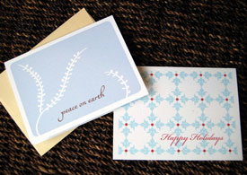 holiday cards by Lidia Varesco Design